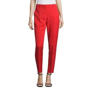 Hugo Boss Red Stretch Pant Slim Fit Timera